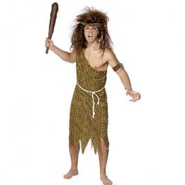 Costume homme des cavernes marron