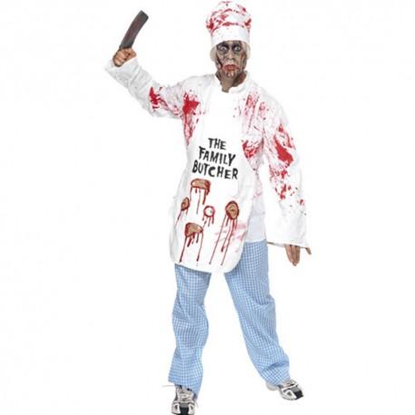 Costume homme chef boucher mortel
