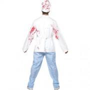 Costume homme chef boucher mortel dos