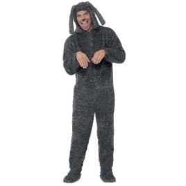 Costume homme chien peluche