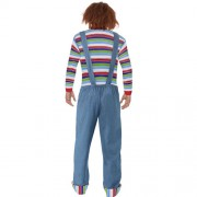 Costume homme Chucky dos