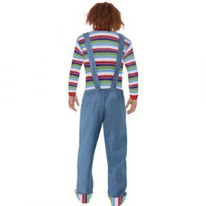 Costume homme Chucky dos