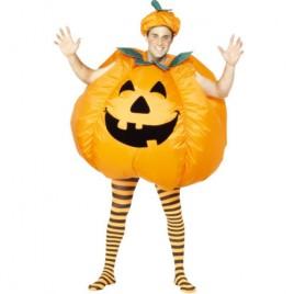 Costume homme citrouille halloween