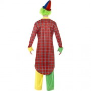 Costume homme clown cirque rigolo dos