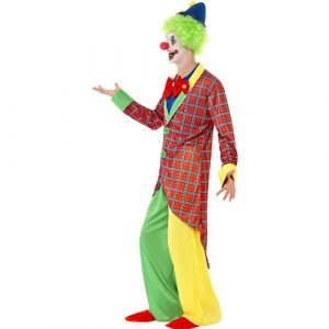 Costume homme clown cirque rigolo profil