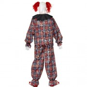 Costume homme clown effrayant dos