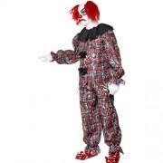 Costume homme clown effrayant profil