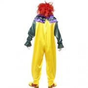 Costume homme clown horreur dos