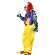 Costume homme clown horreur profil