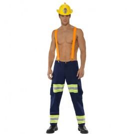 Costume homme combattant du feu sexy
