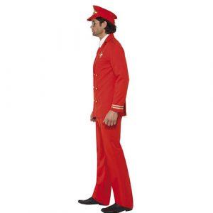 Costume homme commandant de bord profil