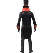 Costume homme comte Dracula dos