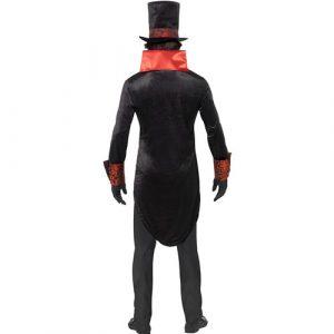 Costume homme comte Dracula dos