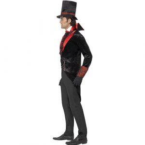 Costume homme comte Dracula profil