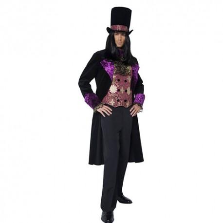 Costume homme comte gothique