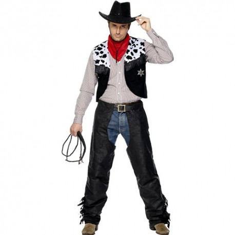 Costume homme cowboy cuir