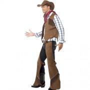 Costume homme cowboy franges profil