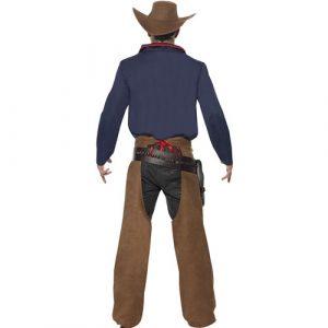 Costume homme cowboy rodéo dos