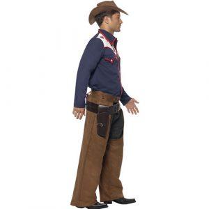 Costume homme cowboy rodéo profil