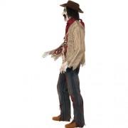 Costume homme cowboy zombie profil