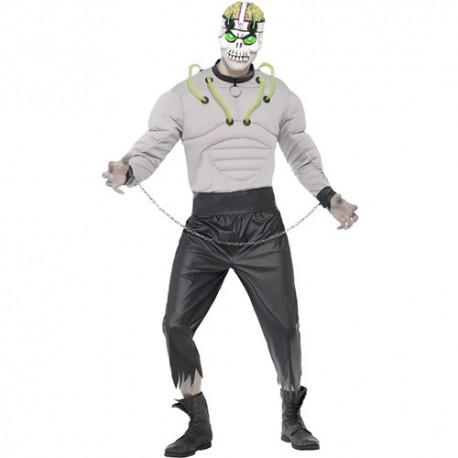 Costume homme créature de laboratoire
