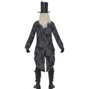 Costume homme croque-mort fantôme dos