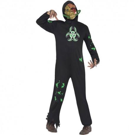 Costume homme danger biologique