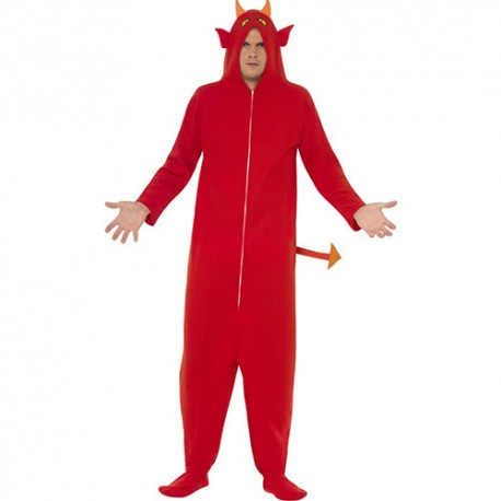 Costume homme diable rouge