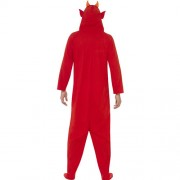 Costume homme diable rouge dos