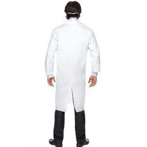 Costume homme docteur blanc dos