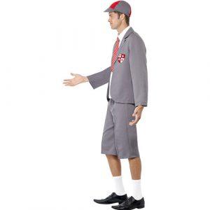 Costume homme écolier profil