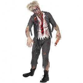 Costume homme écolier zombie