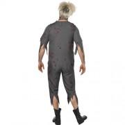 Costume homme écolier zombie dos