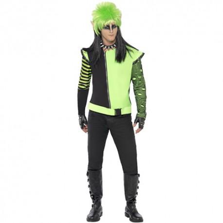 Costume homme elfe punk