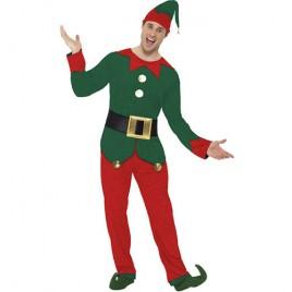 Costume homme elfe Noël