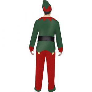 Costume homme elfe Noël dos