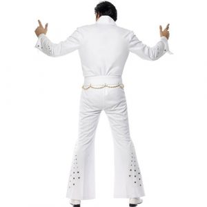 Costume homme Elvis american eagle dos