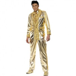 Costume homme Elvis doré