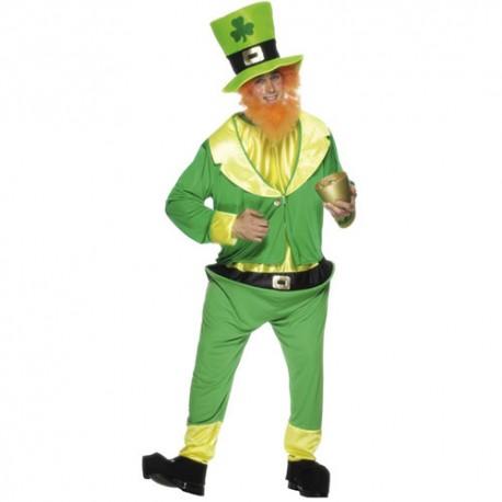 Costume homme farfadet vert
