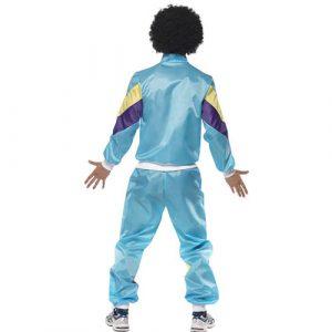 Costume homme fashion années 80 dos