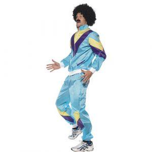 Costume homme fashion années 80 profil