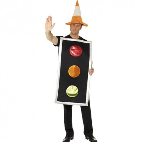 Costume homme feux tricolore
