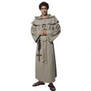 Costume homme moine frère Tuck sans capuche