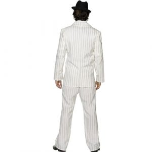 Costume homme gangster blanc dos