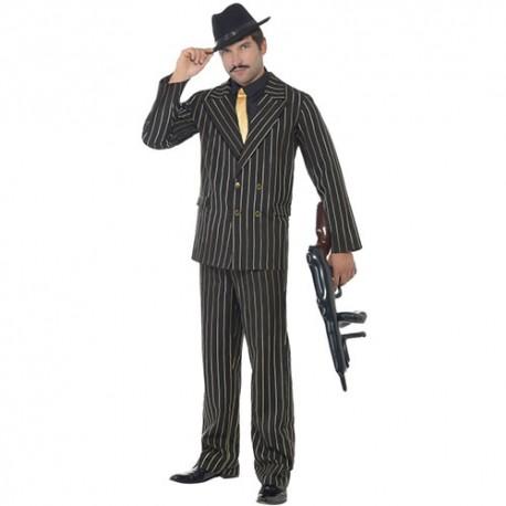 Costume homme gangster noir