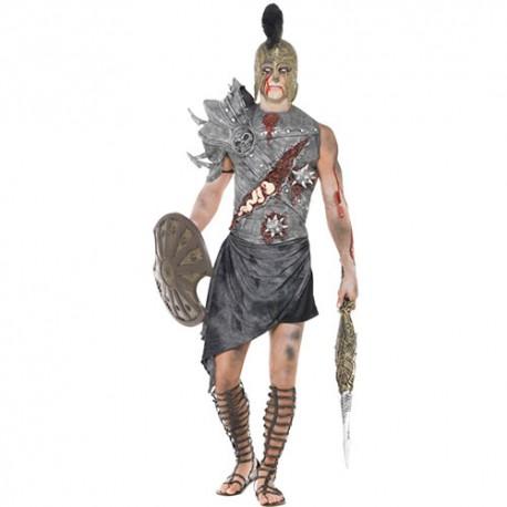 Costume homme gladiateur zombie