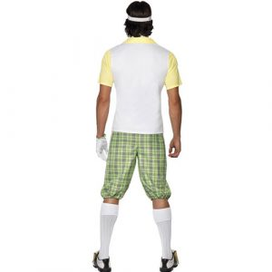 Costume homme golfeur dos