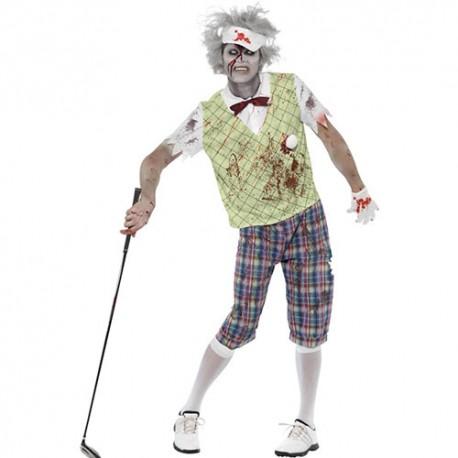 Costume homme golfeur zombie