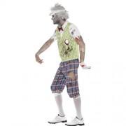 Costume homme golfeur zombie profil