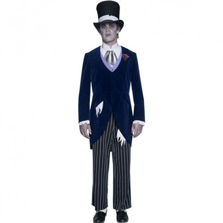 Costume homme groom manoir gothique